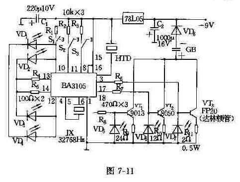 【图】ba3105系列可编程充电电路电源电路