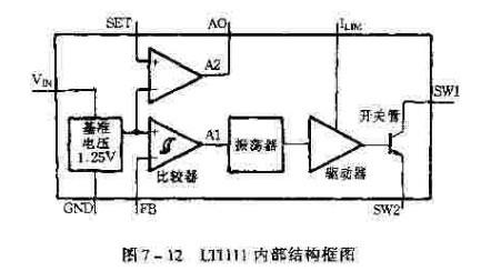 另外有一个运算放大器,它可组成电池低电压检测器.