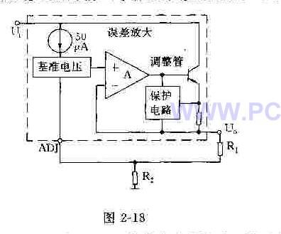 LM317三端可调式正集成稳压器