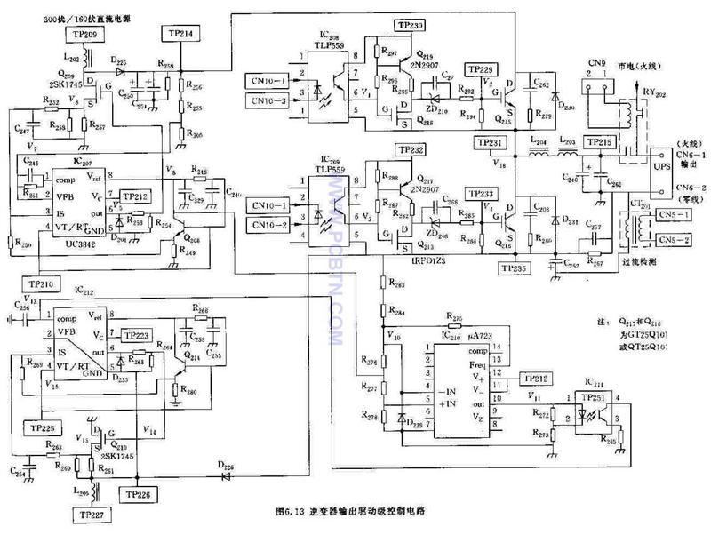 "UPS是一种含有储能装置,以逆变器为主要组成部分的恒压、恒频的不间断电源。当市电正常时,UPS将市电稳压或稳压、稳频后供负载使用,同时向机内电池充电;当市电中断时(异常时),UPS立即在4-10毫秒内或""零""中断时间内将蓄电池的电源通过逆变转换的方式向负载继续供应电力,使负载维持正常的工作,以便保存资料并保护负载的软硬件不受损坏。从原理上来说,UPS是一种集数字和模拟电路,自动控制逆变器与免维护贮能装置于一体的电力电子设备;   逆变器(inverter)是把直流电能(电池、蓄电瓶)转变成交流电"