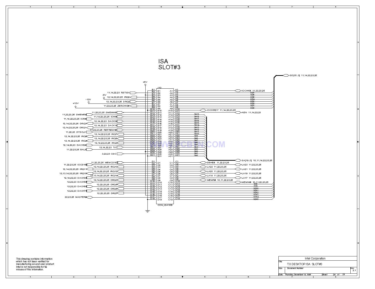 电脑主板电路图430TX[_]24的设计和原理
