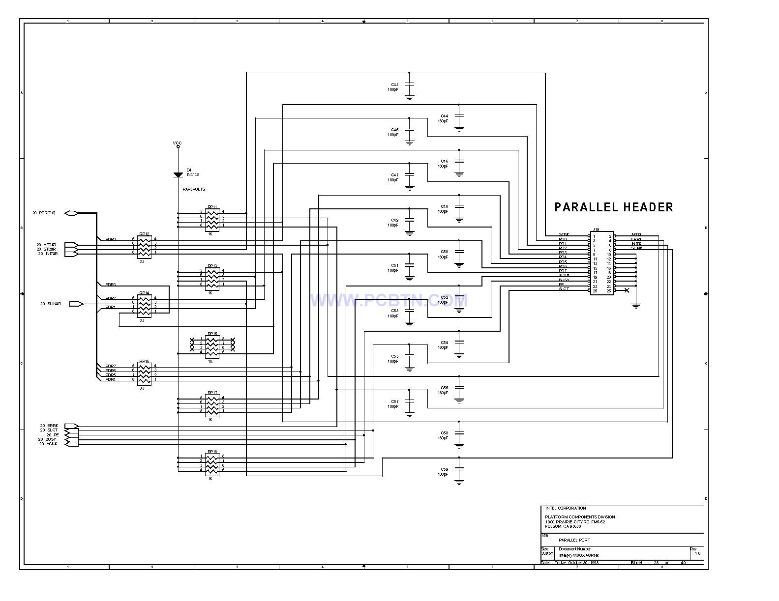 电脑主板设计图440GX[_]28