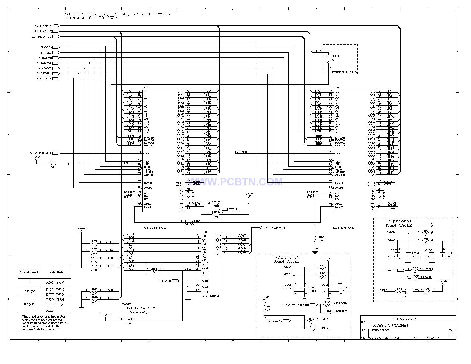 电脑主板430TX电路图[_]06
