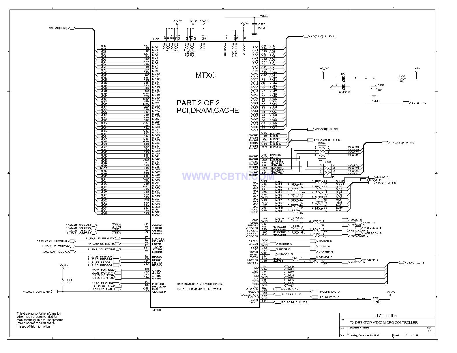电脑主板430TX电路图[_]05