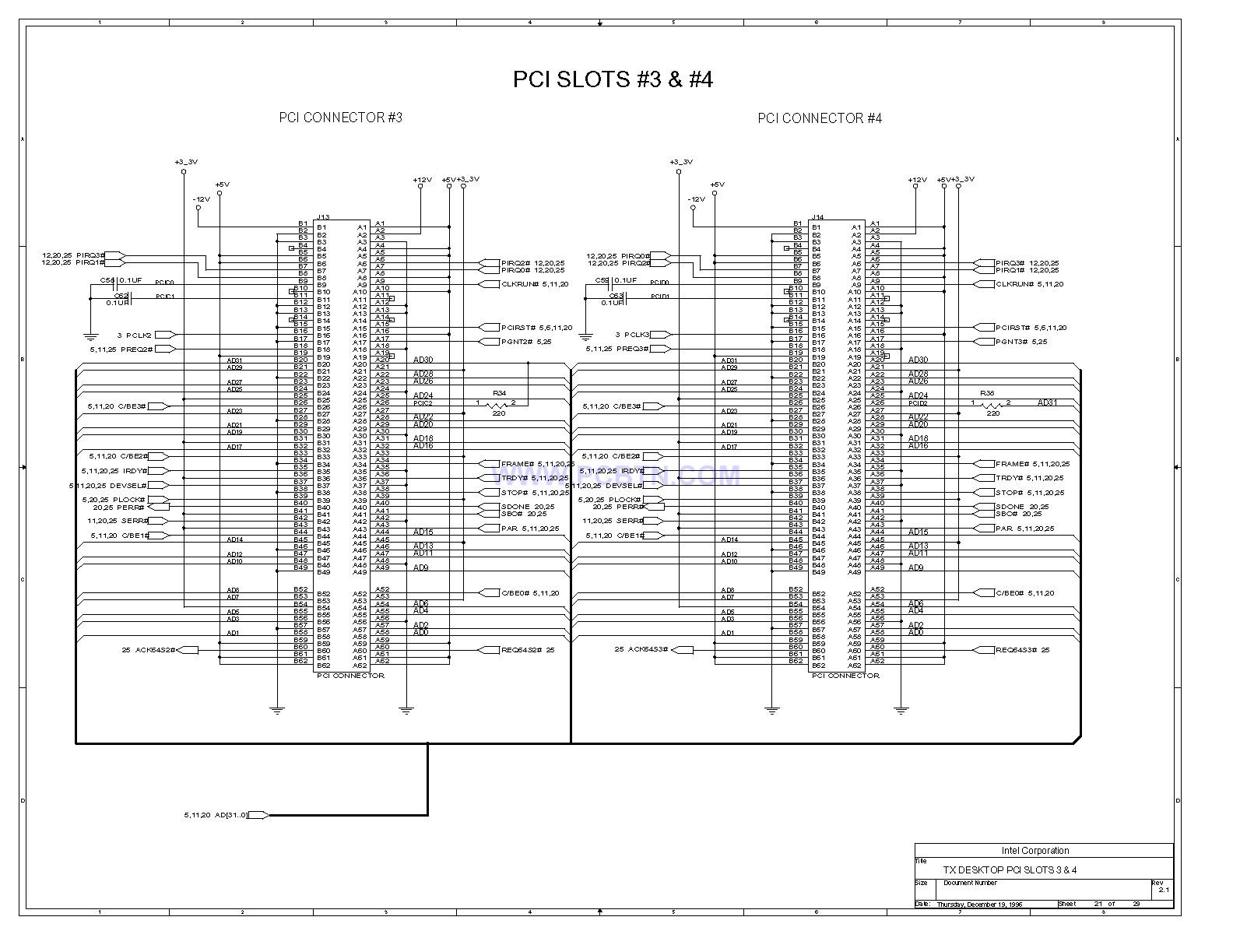 电脑主板430tx[_]21电路图的设计
