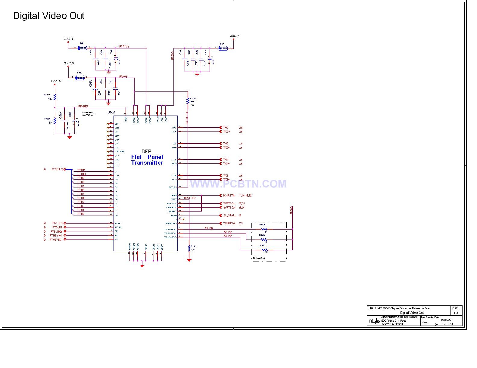 电脑主板电路图810[_]25图片