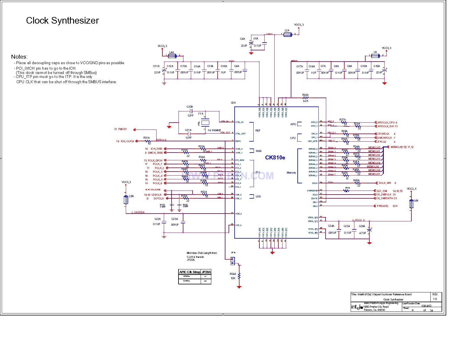 电脑主板电路图810[_]07