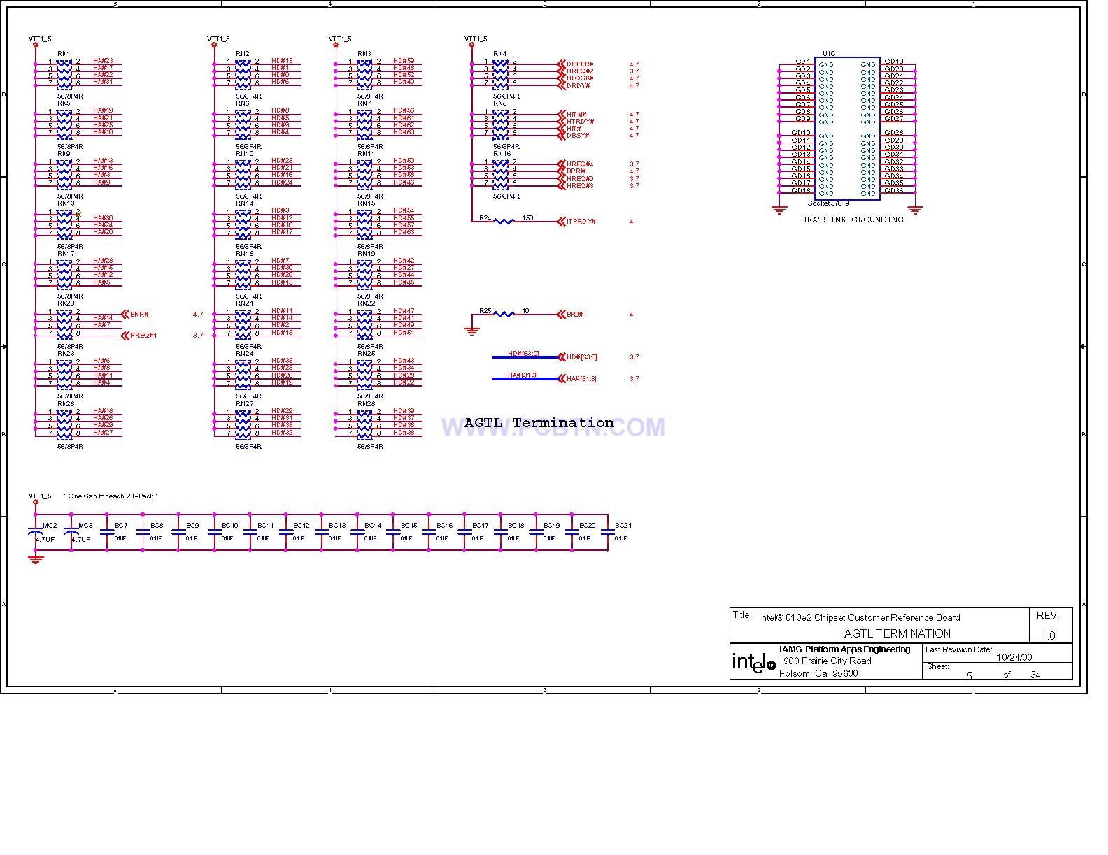 电脑主板电路图810[_]06