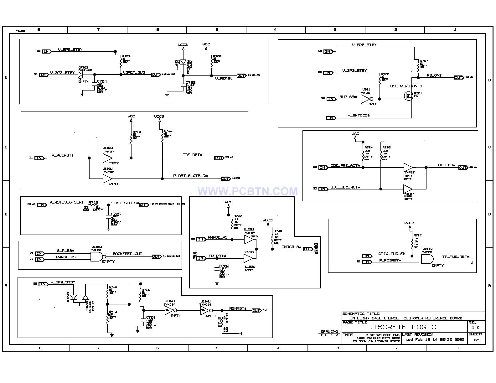 845E电脑主板电路图[_]68