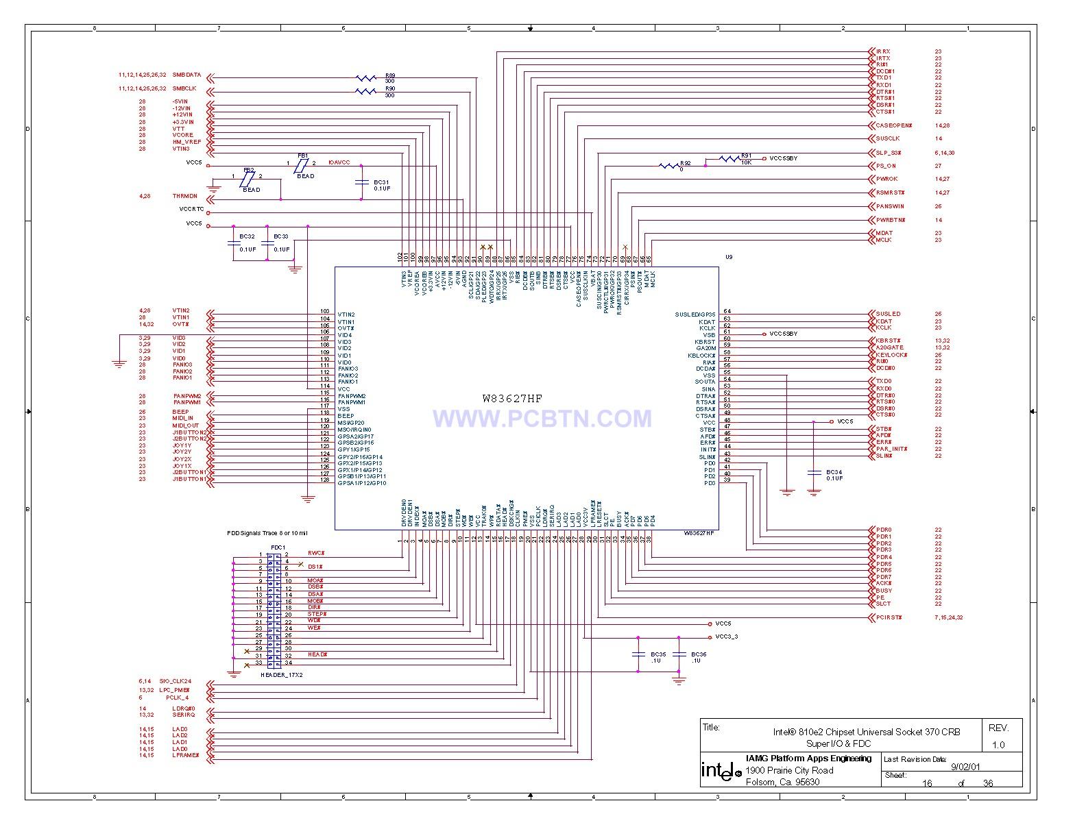810电脑主板电路图2[_]16