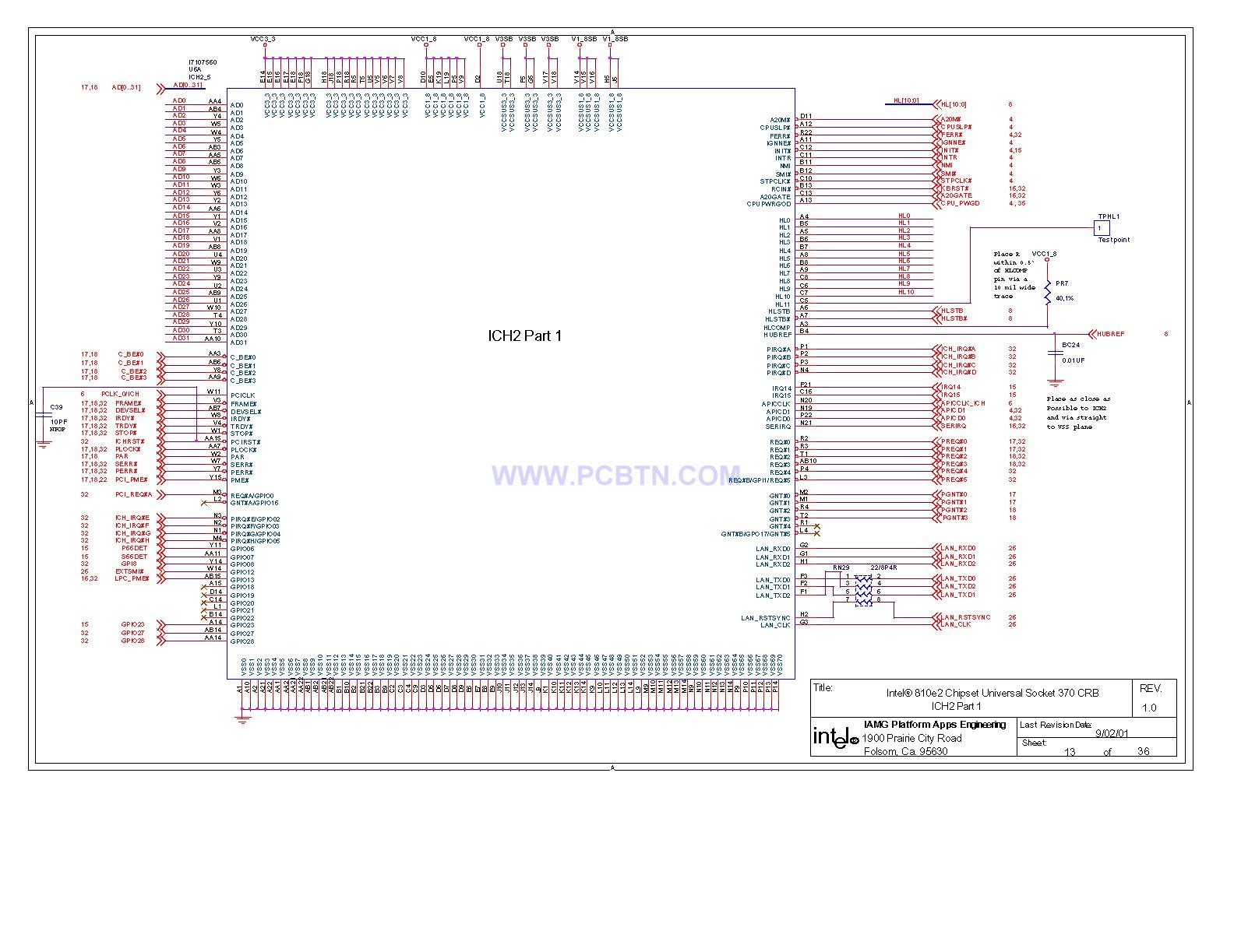 810电脑主板电路图2[_]13