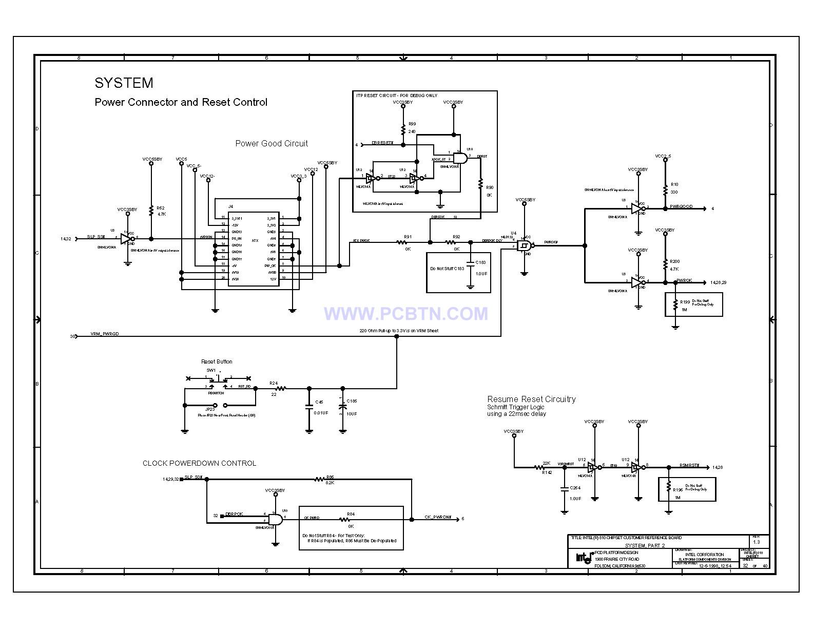 810电脑主板电路图1[_]32