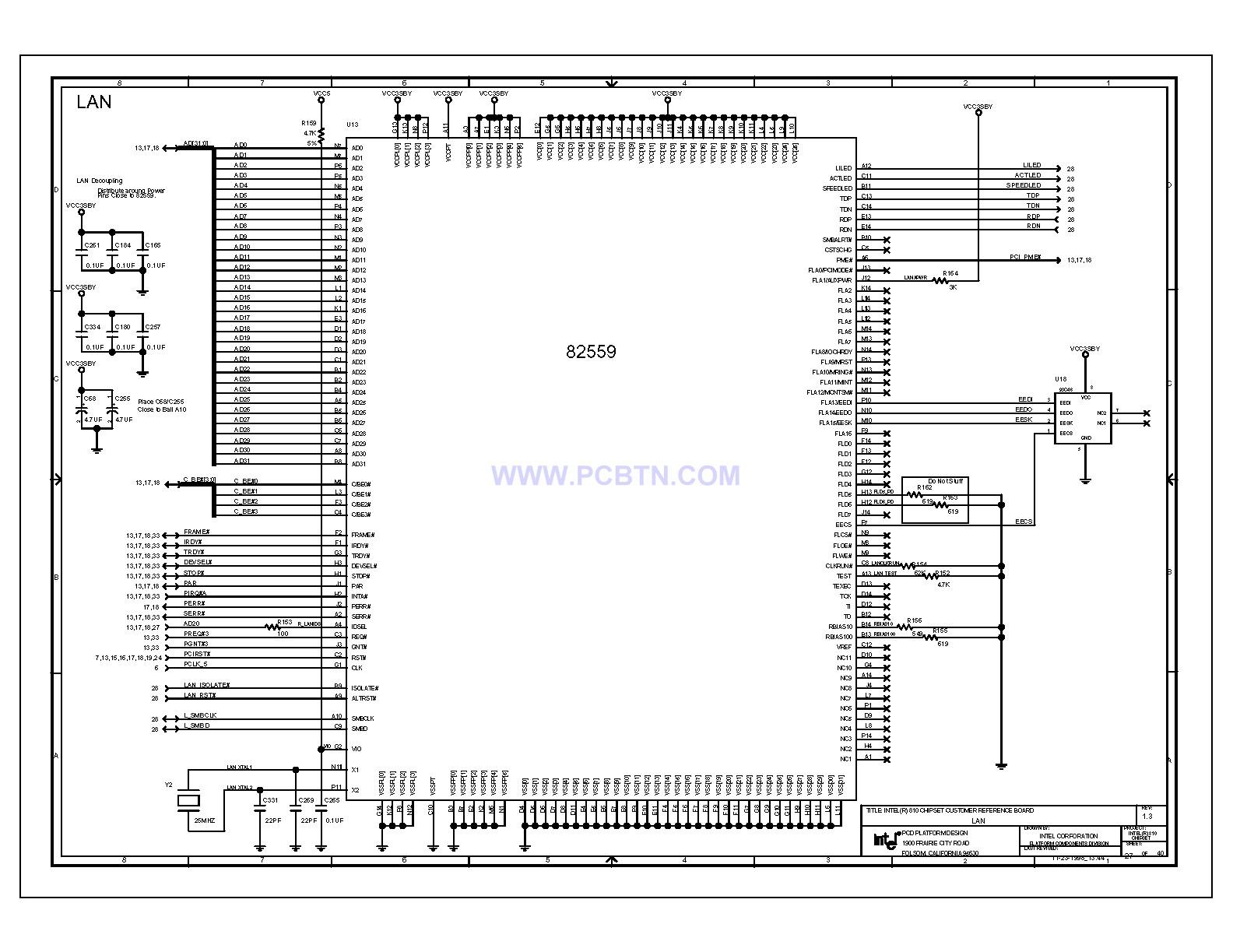 810电脑主板电路图1[_]27