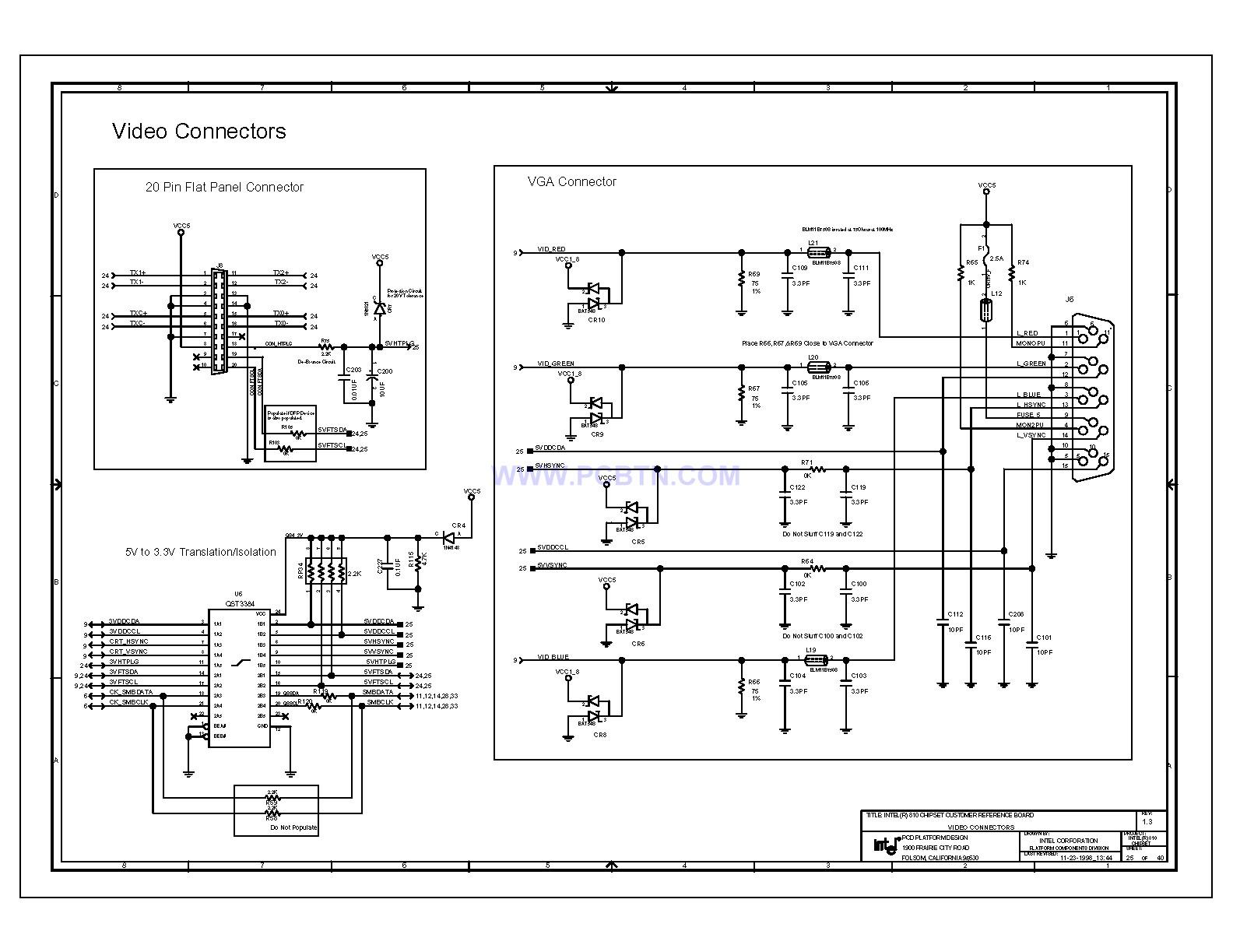 810电脑主板电路图1[_]25