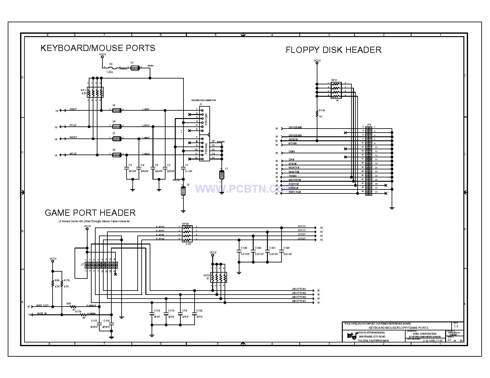 810电脑主板电路图1[_]23