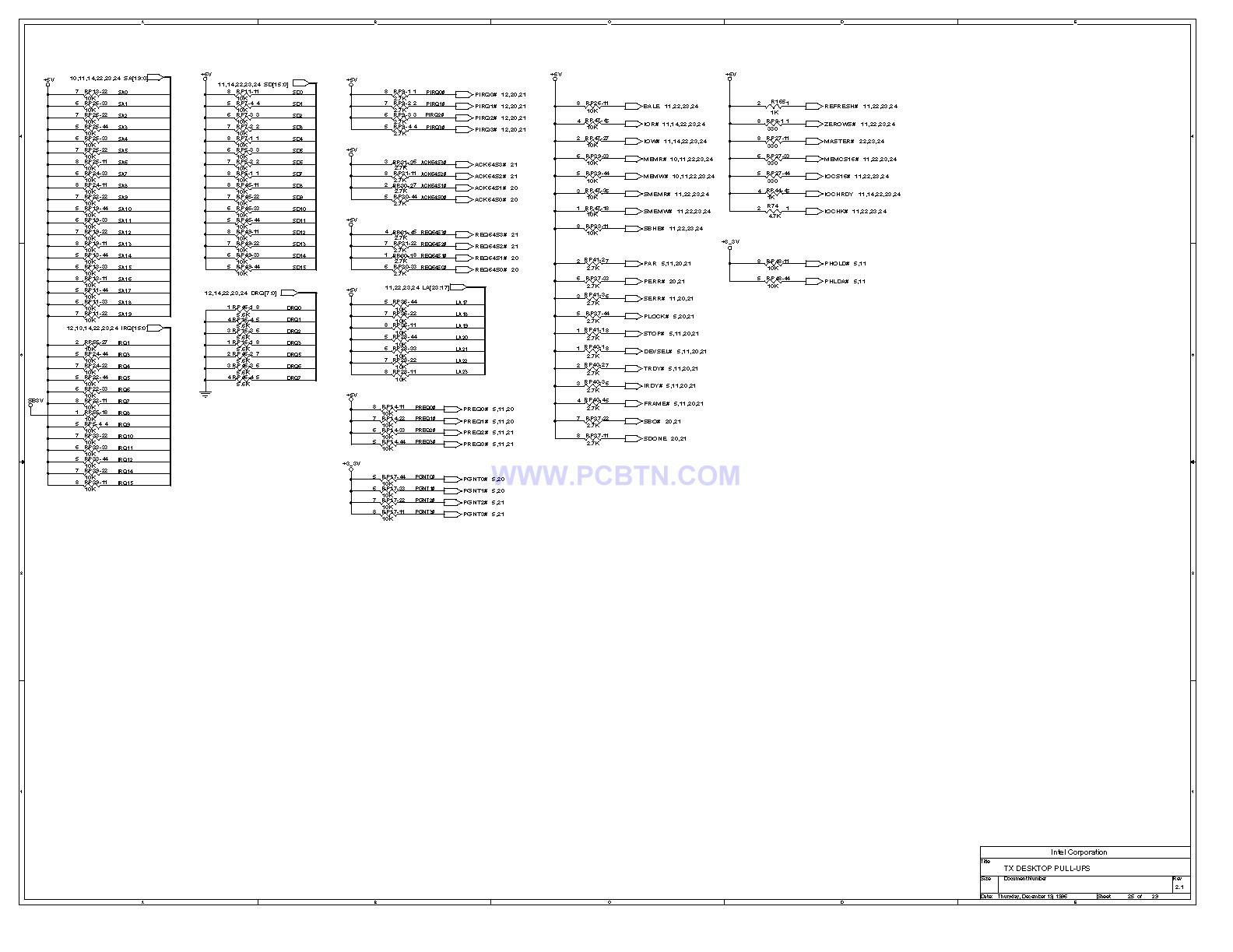 电脑主板设计图430TX[_]25