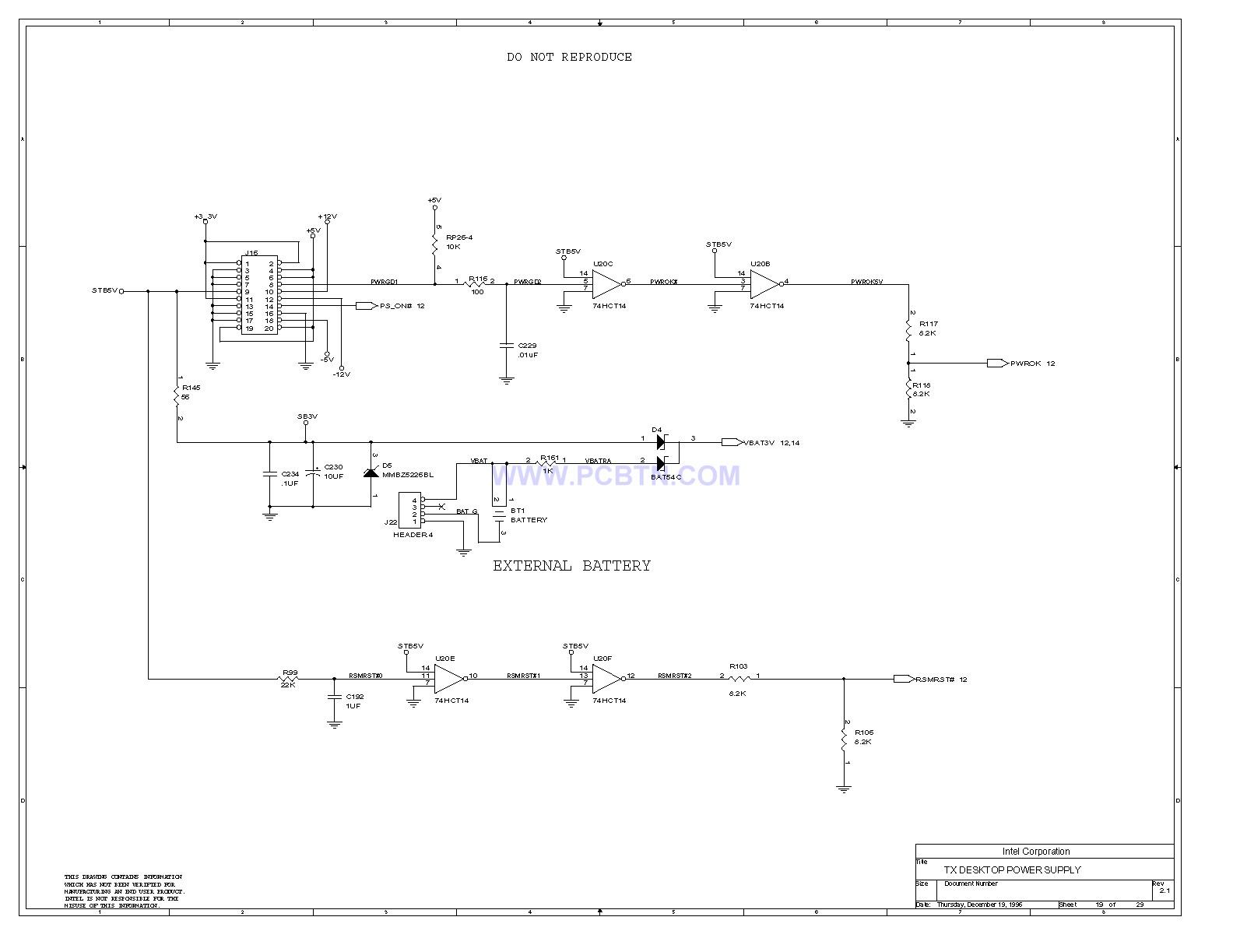 电脑主板设计图430TX[_]19