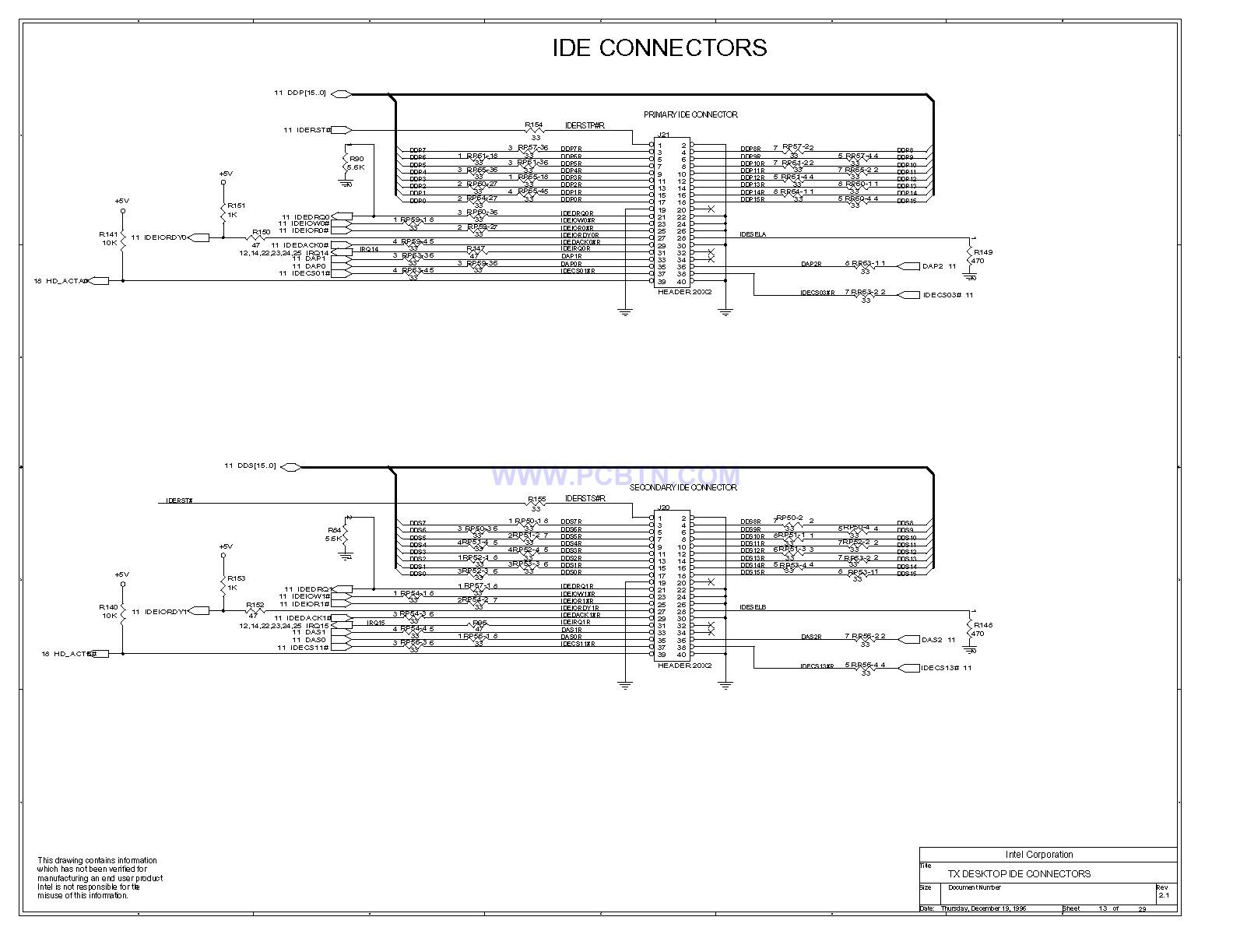 电脑主板430TX电路图[_]13