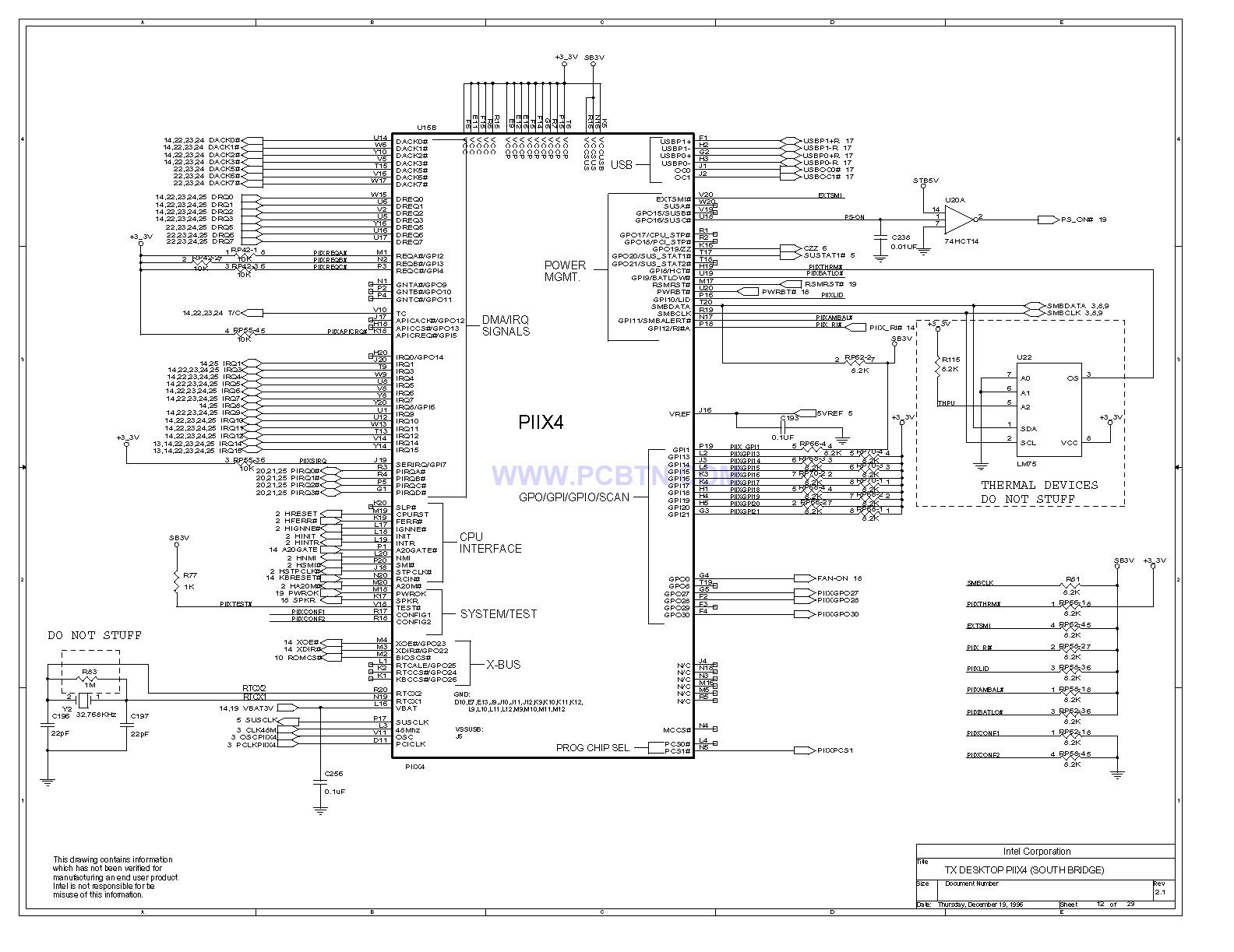 电脑主板设计图430TX[_]12