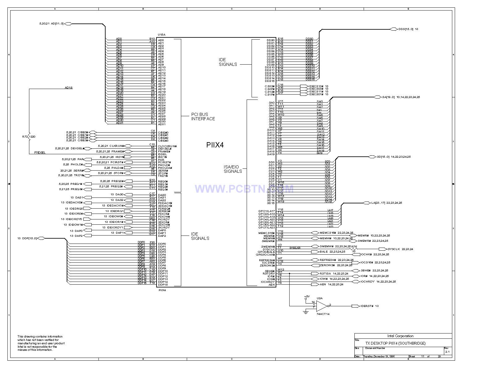 电脑主板设计图430TX[_]11