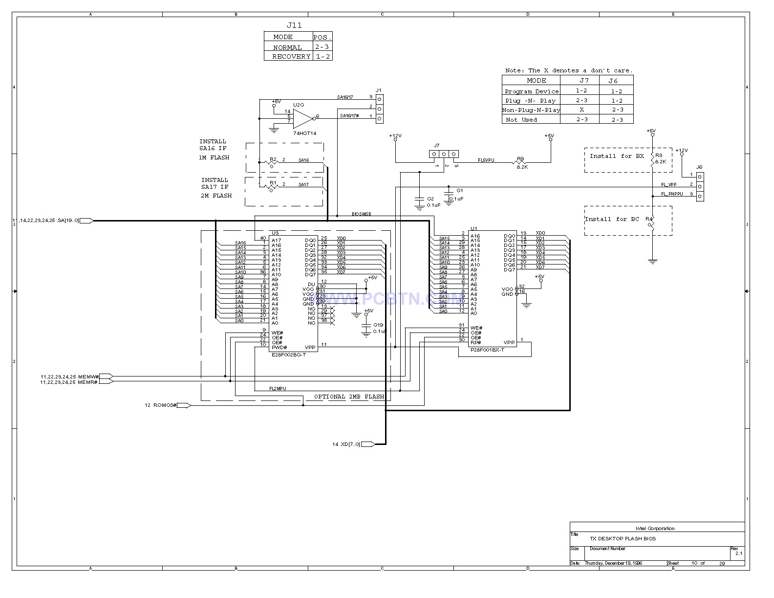 电脑主板设计图430TX[_]10