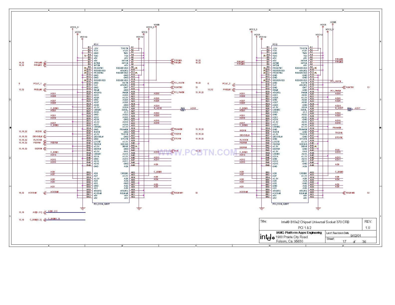 810电脑主板电路图2[_]17