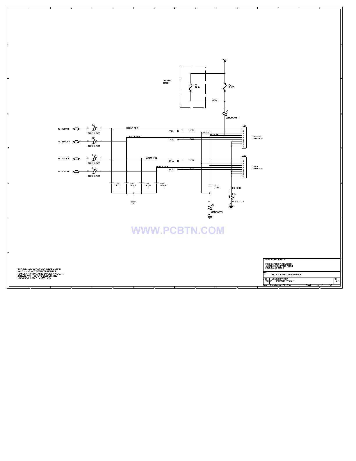 电脑主板设计图440LX[_]28