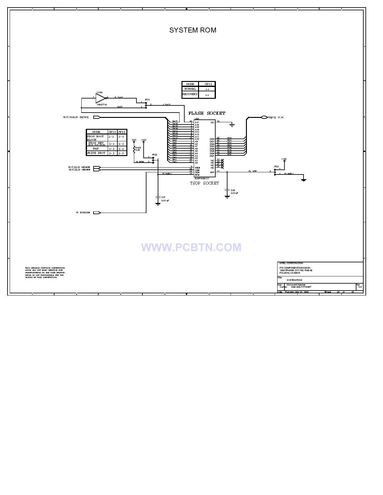 电脑主板设计图440lx[_]25