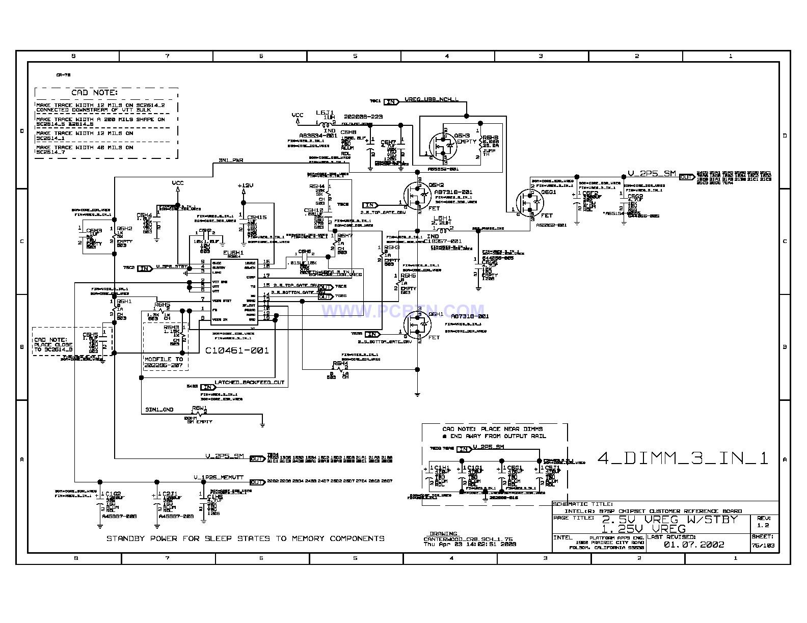 875p电脑主板电路图[_]080