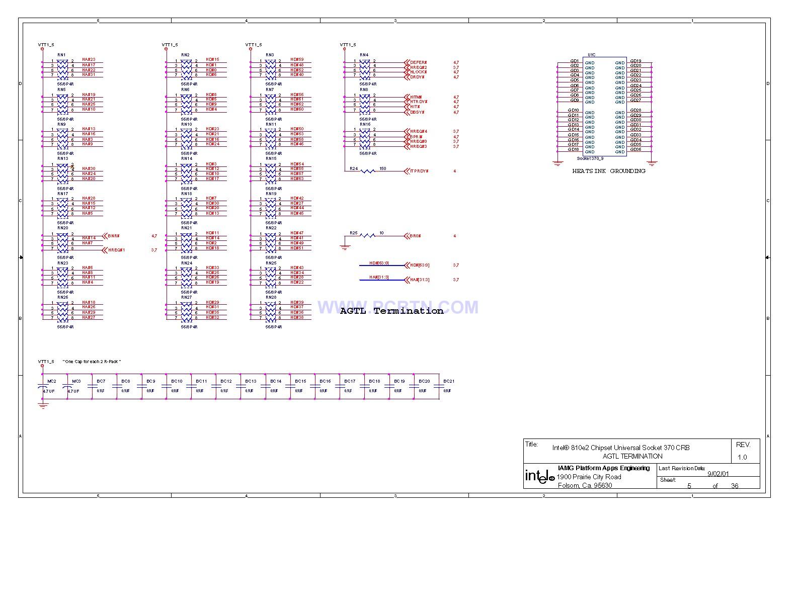 【图】电脑主板810电路图[_]05微机单片机 电路图