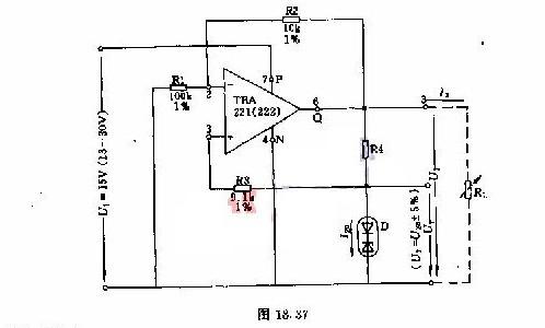【图】由运算放大器构成的基准电压源电路电源电路