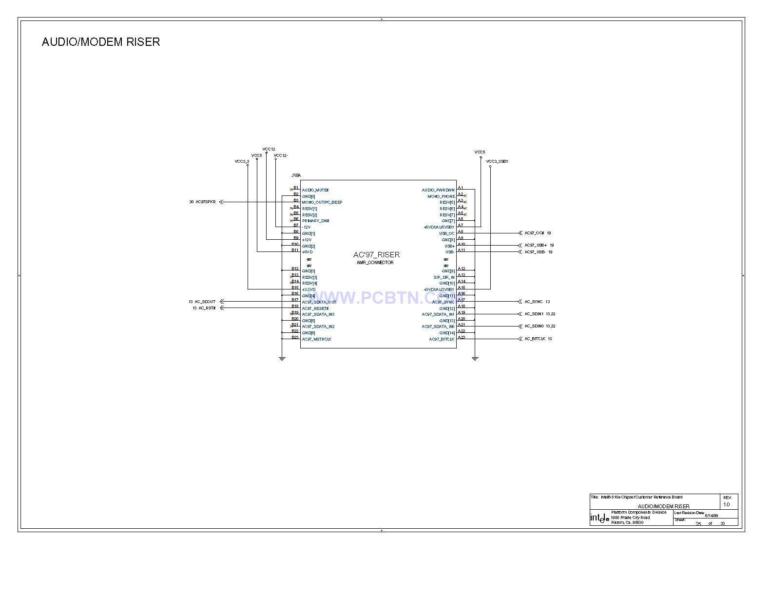 电脑主板810E电路图[_]25