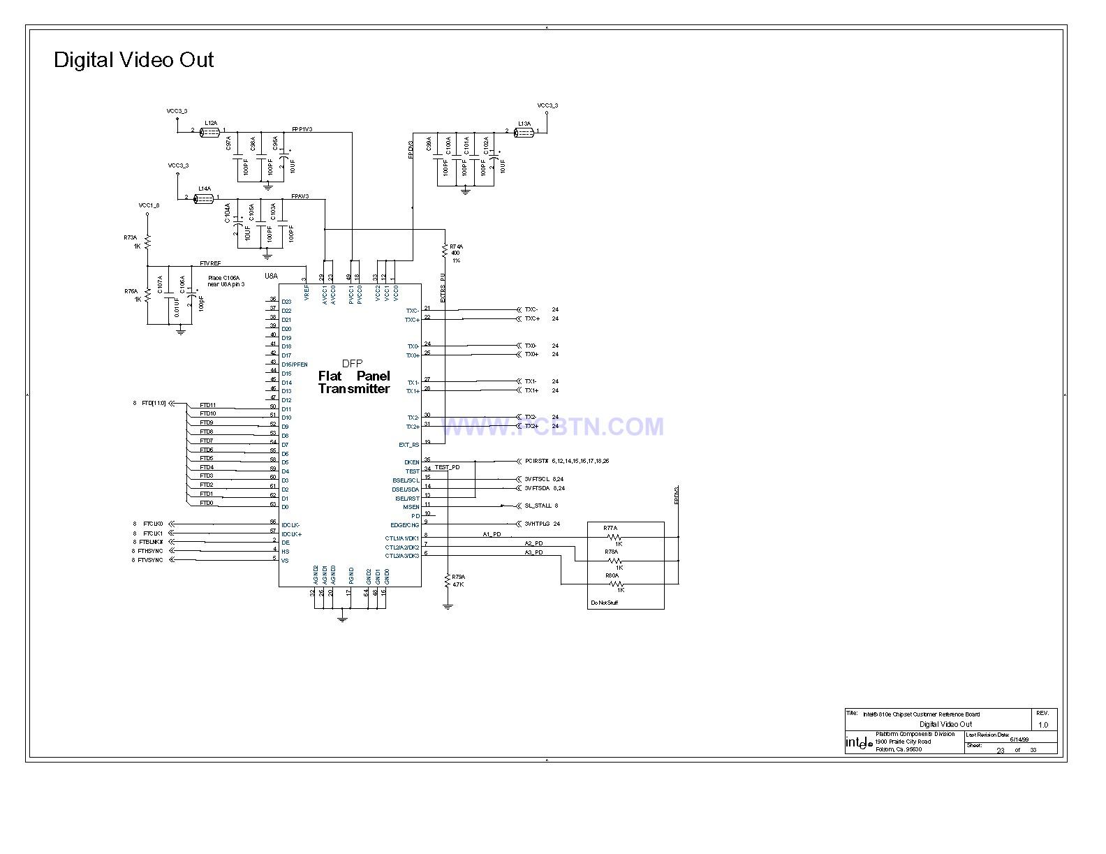【图】810e电脑主板设计图[_]23微机单片机 电路图 捷