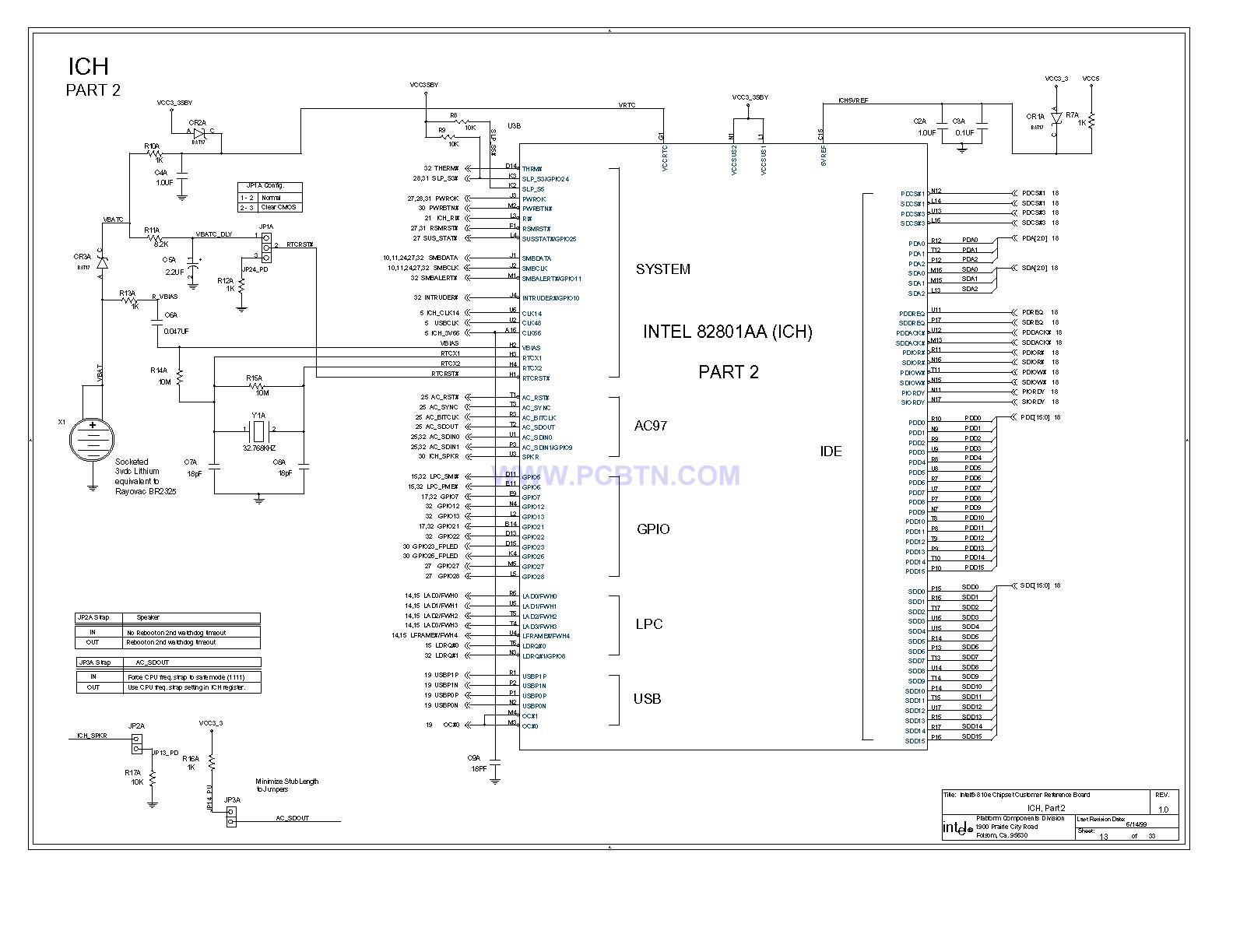 【图】810e电脑主板设计图[