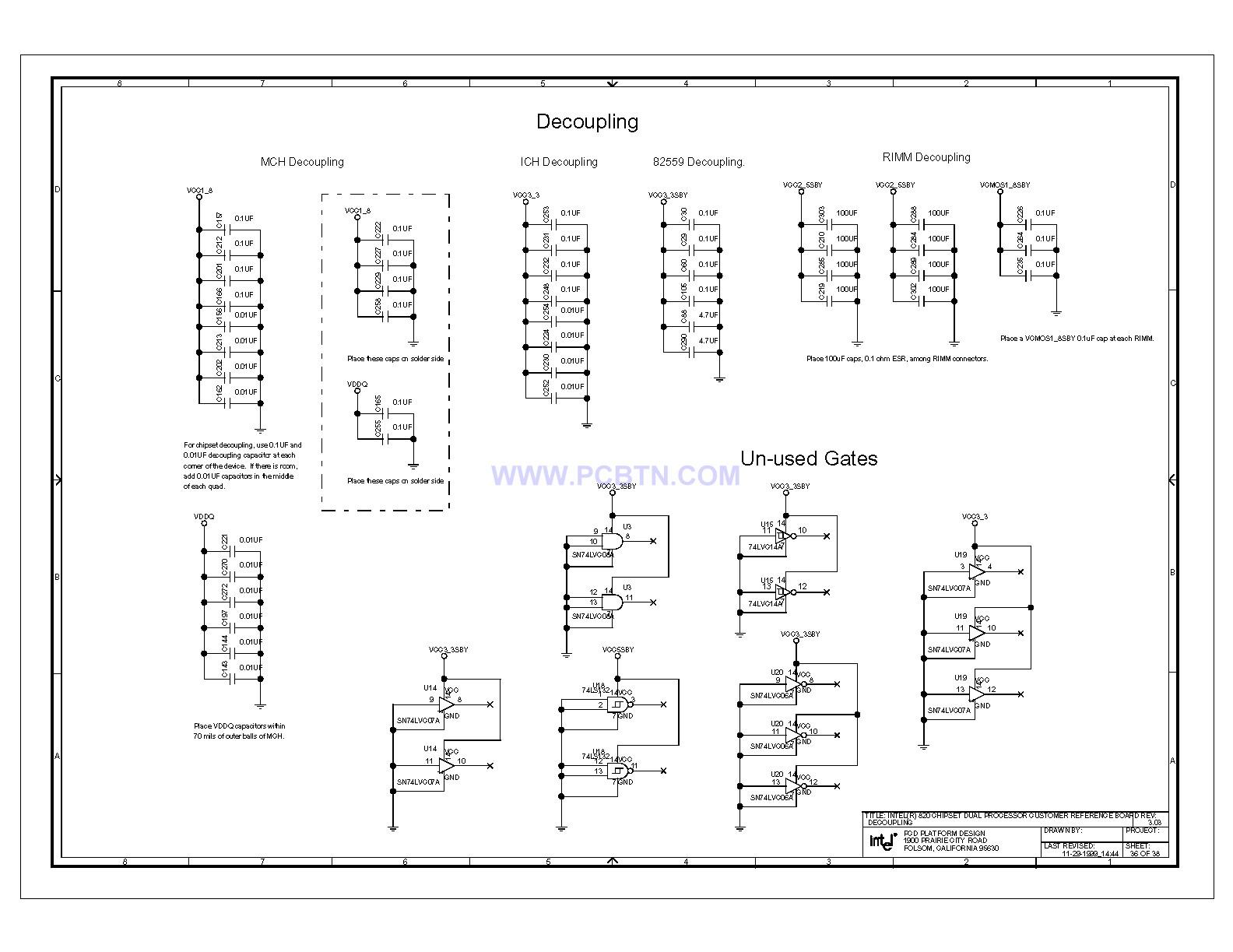 820e电脑主板电路图设计[_]76