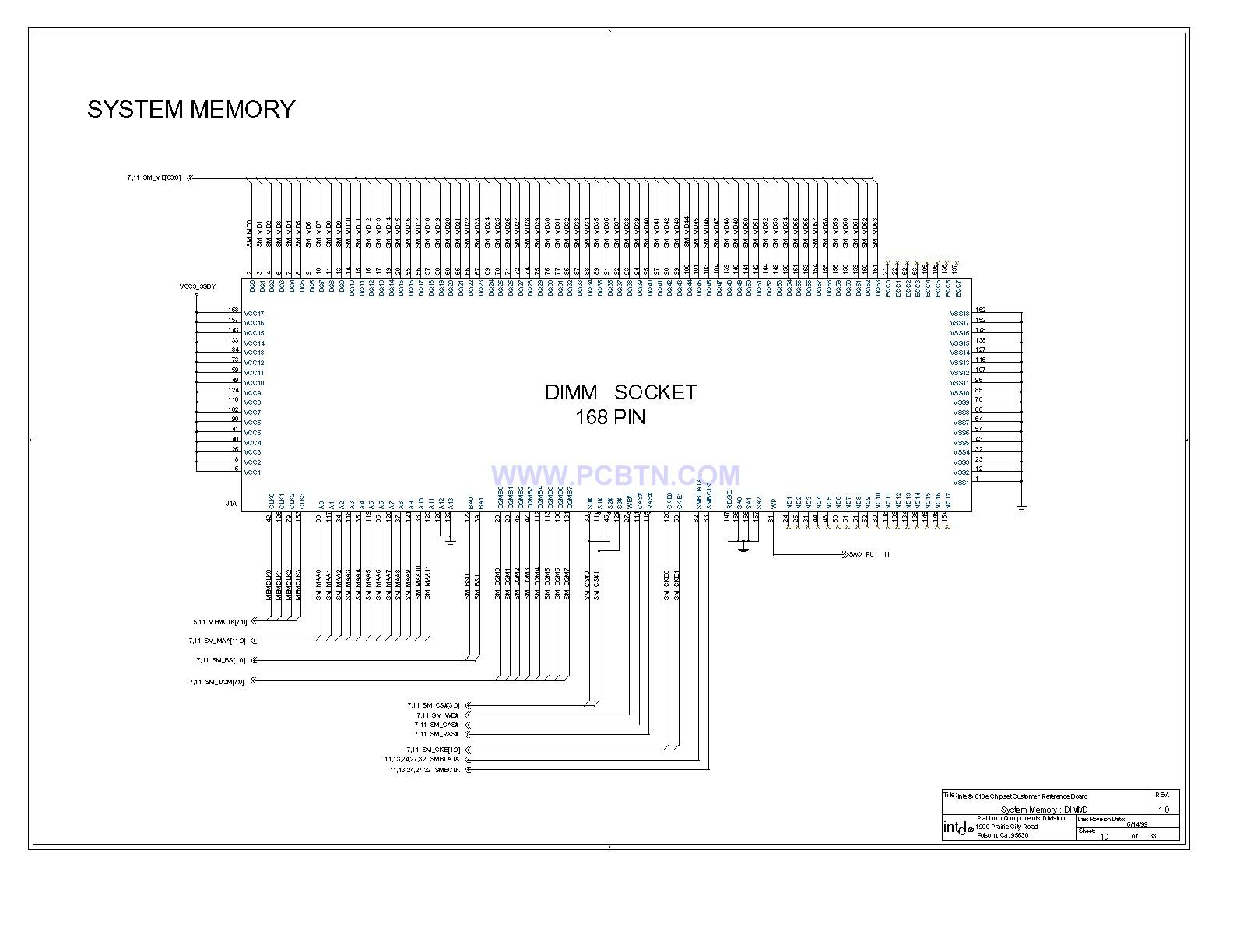 电脑主板810E电电路图[_]10