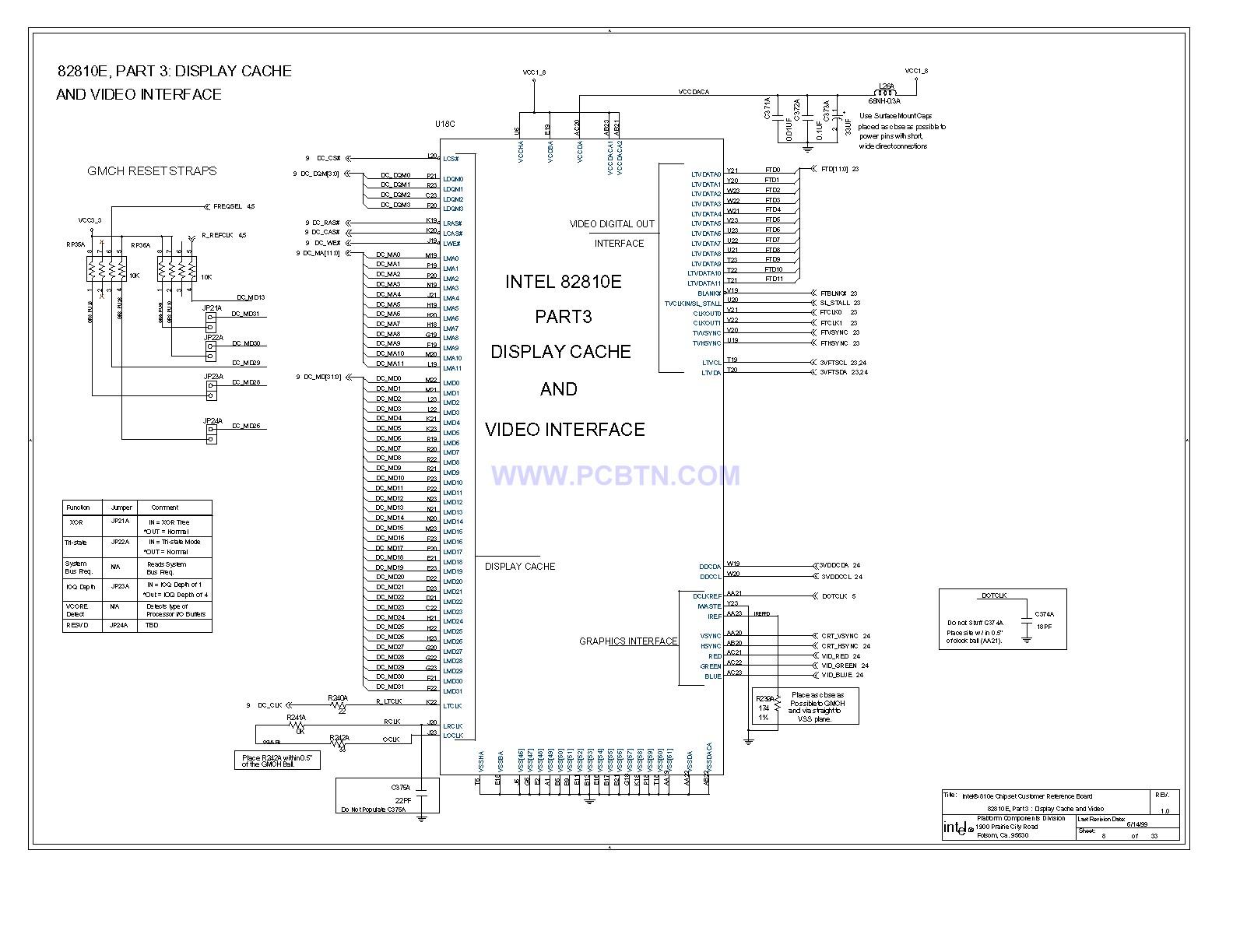 电脑主板810E电路图[_]08
