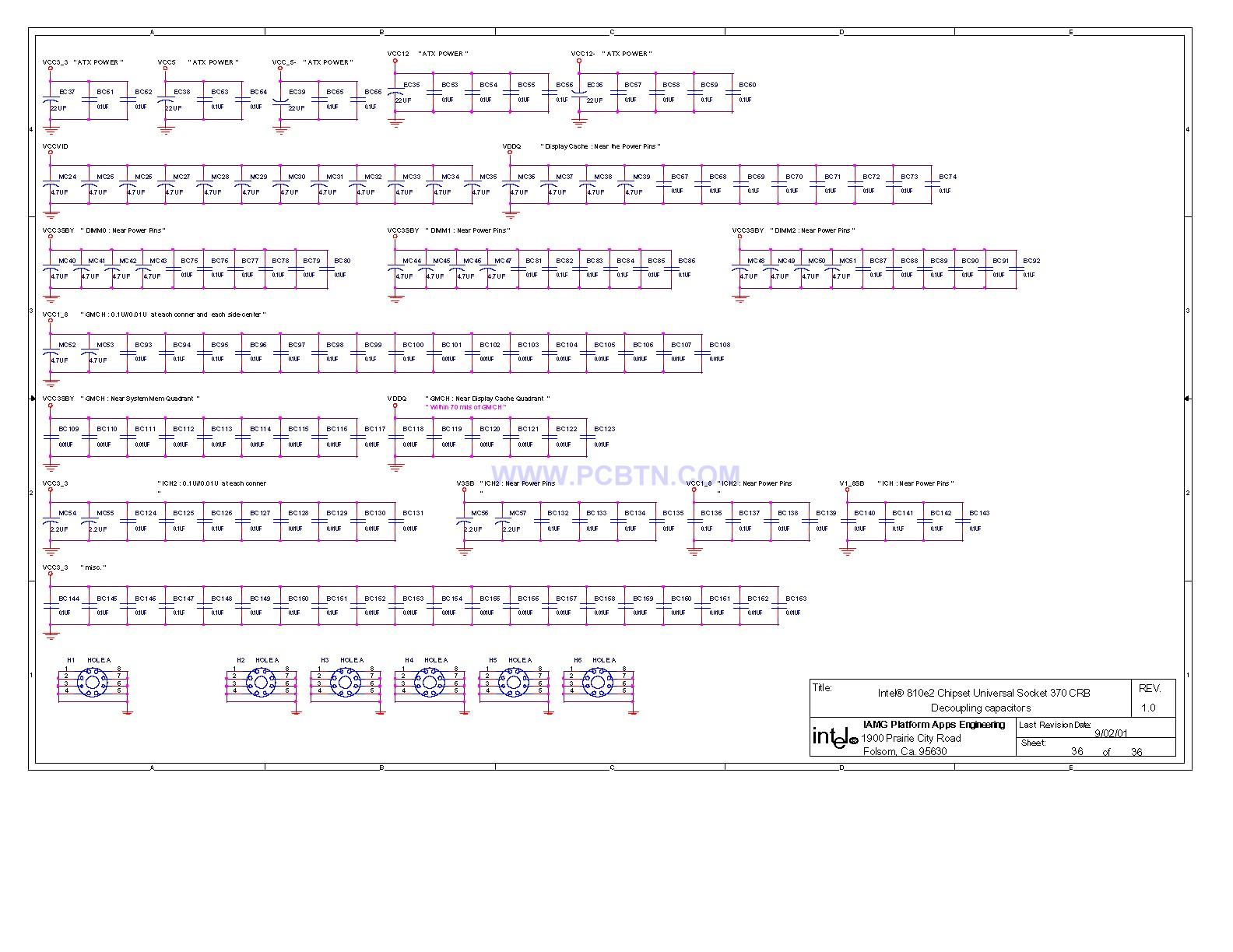 810电脑主板电路图设计[_]36