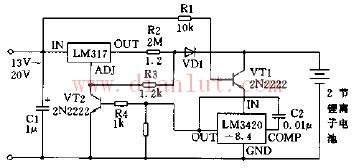 两种不同的锂离子电池充电器电路