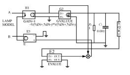 荧光灯PSPICE模型
