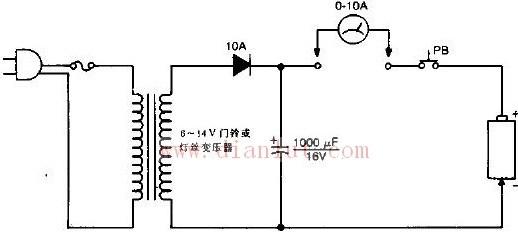 简易镍镉电池短路消除器