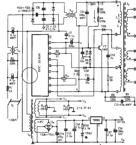 【图】音响开关电源电源电路