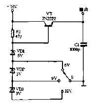 分挡稳压器电路图