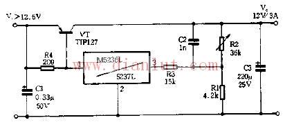 基于M5236L设计三端稳压模块电路