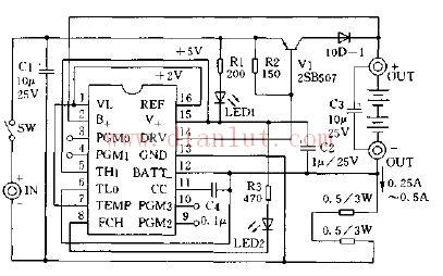 介绍太阳能电池快速充电应用电路的制作