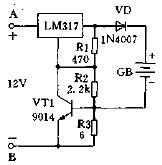 基于LM317芯片设计限流型电池充电器电路