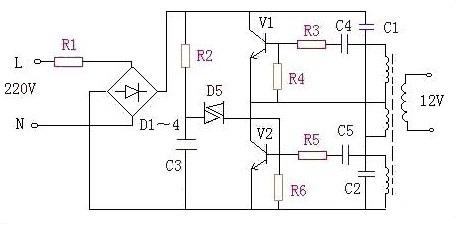 【图】电子式变压器电路图及其原理图电源电路