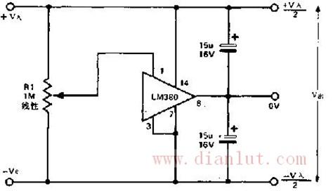 简单分离电源电路设计