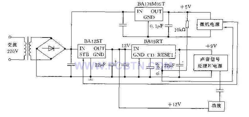 新型简单电源电路图-新型简易电源电路图图片