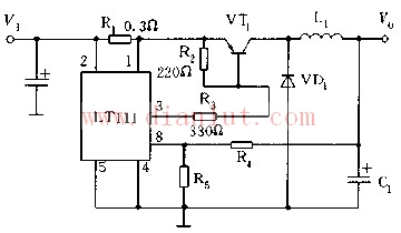 基于LT111芯片设计大电流输出电路